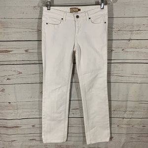 Paige White Melrose Straight Jeans